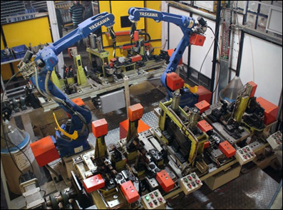 Robotice Welding Automation
